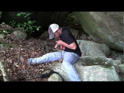 Surviving the Wilderness 2 - Episode 36 - Improving the Fire Making Tools