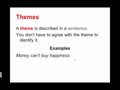 Theme Plus - Finding Meaning in Theme