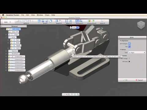Use joints to create mechanisms