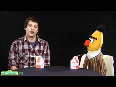 Sesame Street: Conversations with Bert: Andy Samberg, Part 1