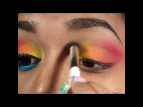 Ocean Sunset Look - Tutorial