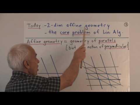 WildLinAlg1a: Introduction to Linear Algebra