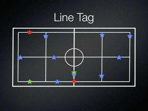 P.E. Games - Line Tag