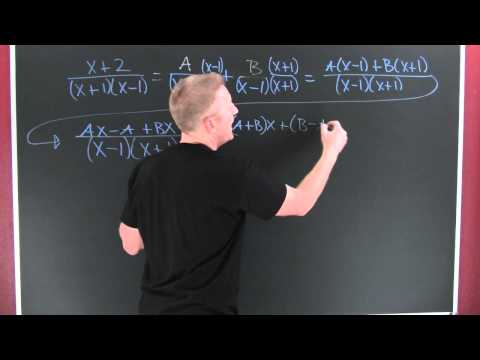 Partial Fractions (linear factors).mov