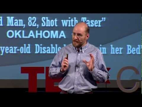 TEDxCanberra - Stephen Coleman - The ethics of non-lethal weapons