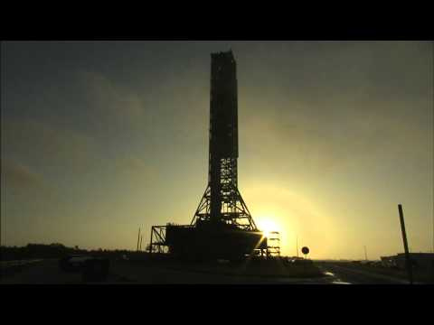 NASA's Mobile Launcher Moved to Launch Pad