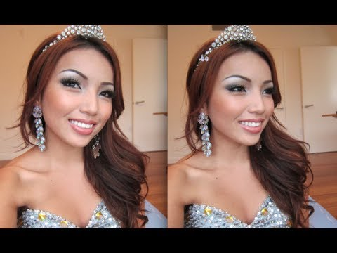 Pageant Queen Make-up Tutorial !!!
