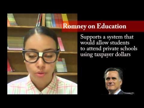 Teen Guide to the 2012 Election - Education