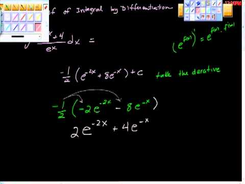 Proof of an Integral by Differentiation AP Calculus