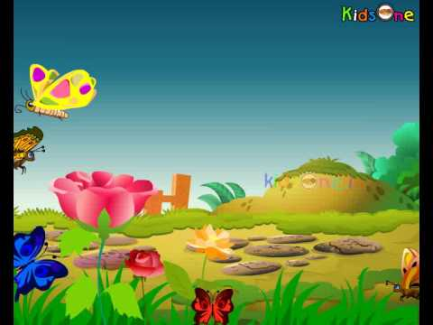 Thithli Thithli - Butterfly - Hindi Animated Nursery Rhymes - Kids Rhymes