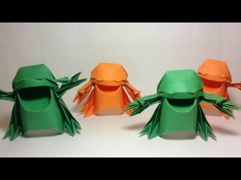 Origami Warai (Joseph Wu)
