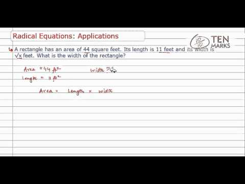 Radical Equation-Application