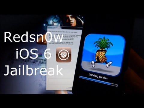 NEW Redsn0w Final iOS 6 Jailbreak For iPhone 4, 3GS & iPod Touch 4