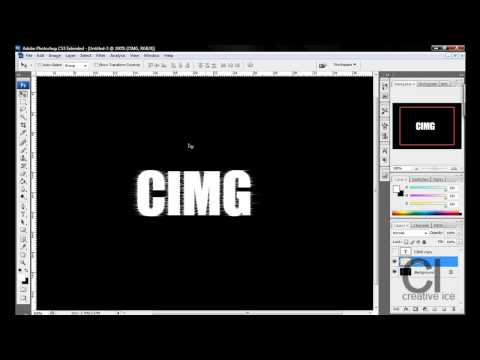 Photoshop Tutorial : Really Cool Electricity Text Effect