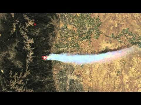 NASA | Satellites See Smoke Plume from Fourmile Canyon Fire