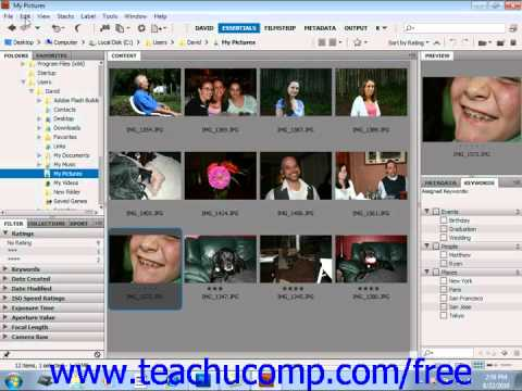 Photoshop CS5 Tutorial Rotating Images Adobe Training Lesson 2.11