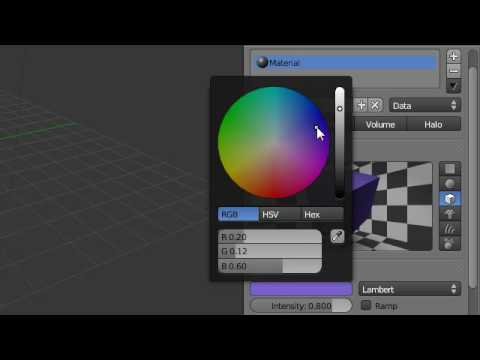 Super3boy's Sixth Blender Tutorial(Materials)