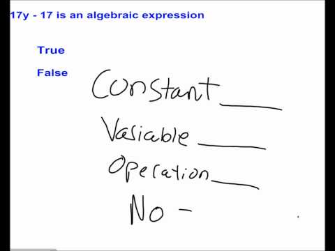 Variables and Expressions #14