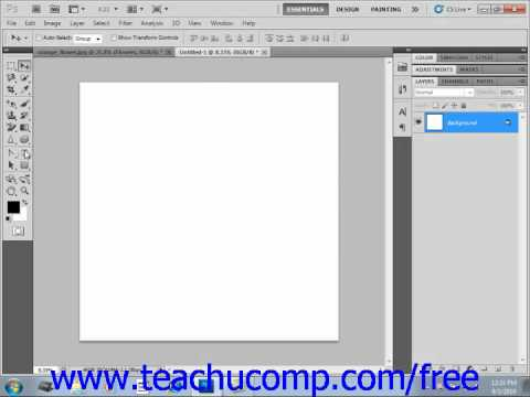 Photoshop CS5 Tutorial Creating a Type Selections Adobe Training Lesson 11.5