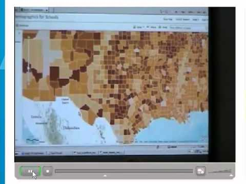 Teaching about population using ArcGIS Online