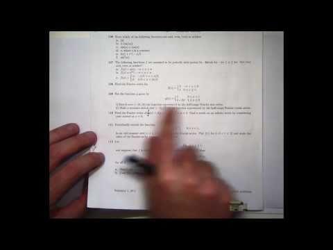 Tutorial on Fourier series.  Chris Tisdell UNSW Sydney