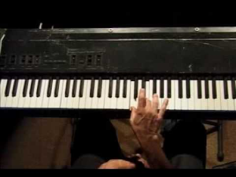 Piano Lesson - Spider Finger Exercise (right hand)