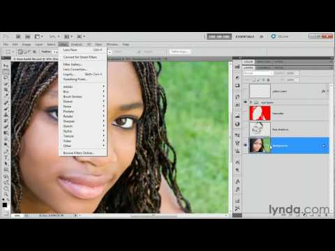 Photoshop CS5: How to duplicate a layer | lynda.com tutorial