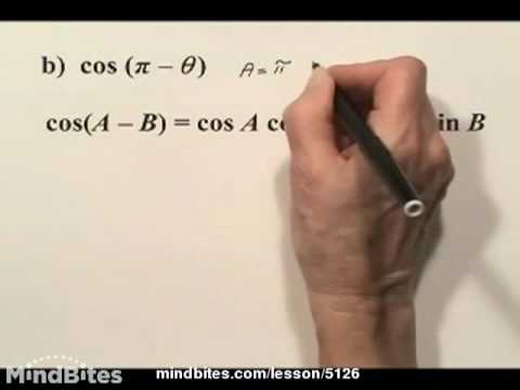Trigonometry: Sum, Difference & Double Angle Identities