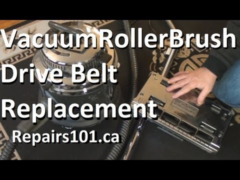 Vacuum Roller Brush Drive Belt Replacement