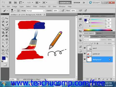 Photoshop CS5 Tutorial Blending Modes Adobe Training Lesson 5.3