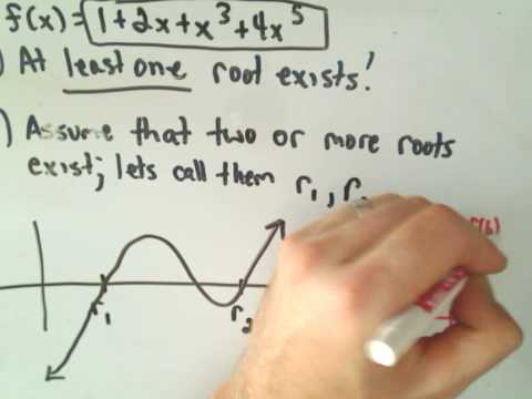 Proof By Contradiction - Calculus Based Example