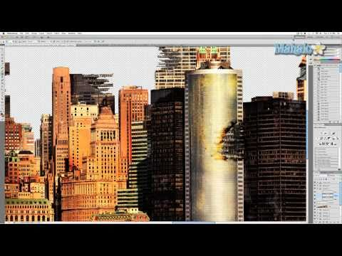Photoshop Tutorial - Paint Compositing