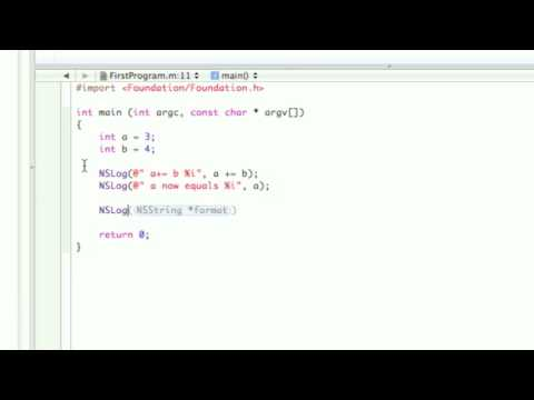 Objective-C Tutorial - Lesson 3: Part 2: Compound Assignment Operators
