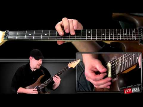 Seventeen   Winger Main Riff Guitar Lesson