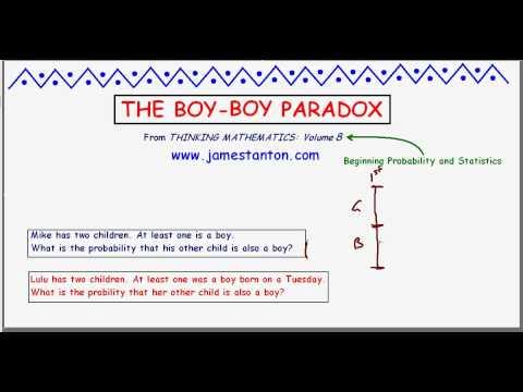 The Boy-Boy Paradox