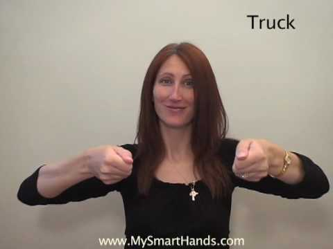 truck - ASL sign for truck