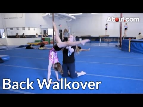 Quick Tip: How to Do a Back Walkover With a Spot