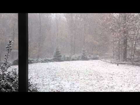 October Blizzard In NY