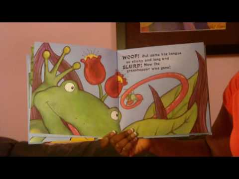 preschool stories - The Icky Sticky Frog - littlestorybug