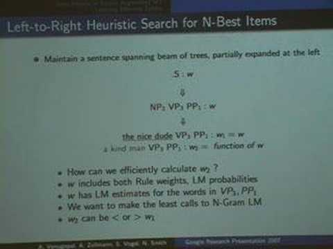 Syntax Augmented Machine Translation: Challenges in Search and Learning Effec...