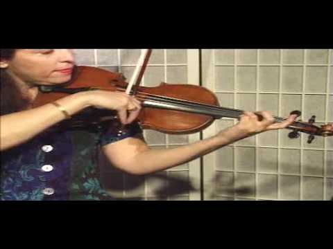"Violin Lesson - Song Demonstration - ""Amazing Grace"""