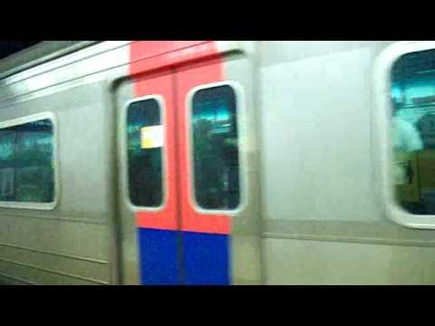 Subway coming in (Seoul Korea)