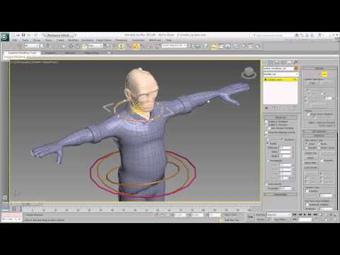 Rigging the Character - Part 6 - Spine Controls