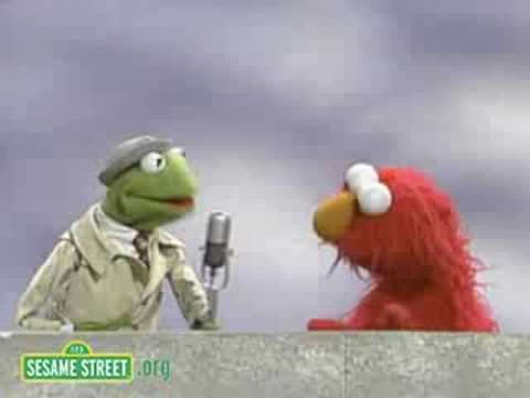 Sesame Street: Kermit Reports News On Elmo's Idea