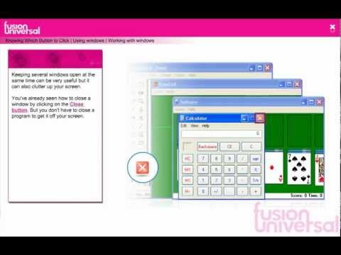Working with Windows - the virtual school - IT for teachers in Africa
