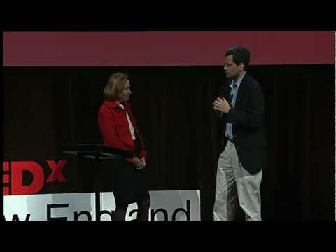 TEDxNewEngland | 11/01/11 | Gloria Cordes Larson - Interview with David Pogue