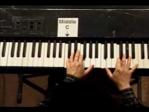 Piano Lesson - Kohler's Very Easiest Piano Studies #17