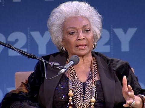 Star Trek's Biggest Fan? Nichelle Nichols Remembers MLK, Jr.