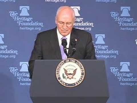 Vice President Cheney on FISA at The Heritage Foundation
