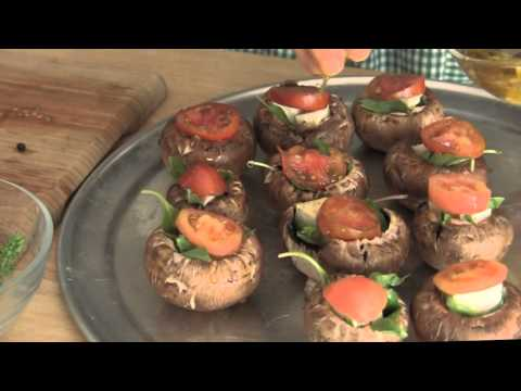 Stuffed Mushrooms Recipe Secrets, Healthy Cooking by Celina the Food Smarty